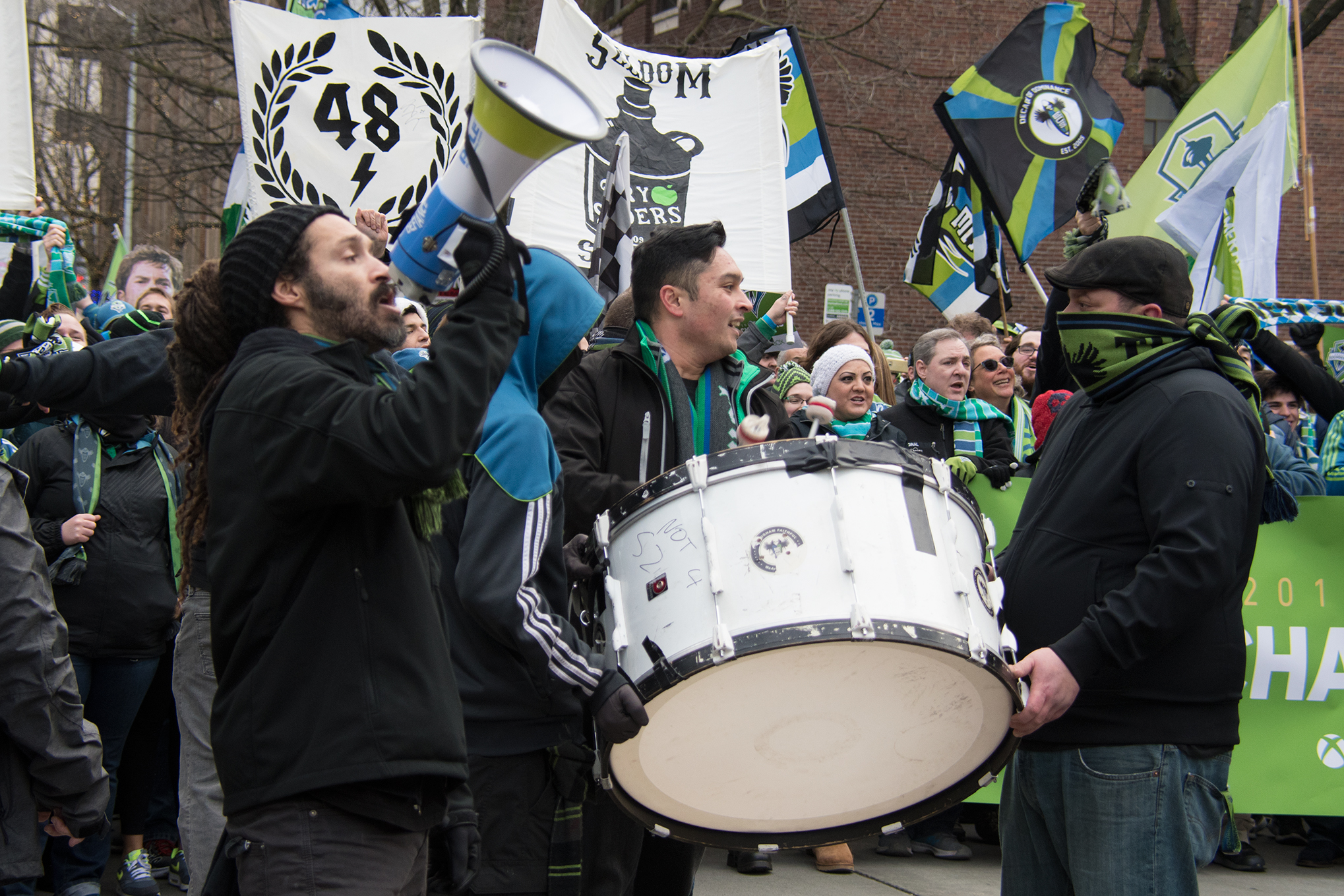 Seattle Sounders Win The Mls Cup Parade