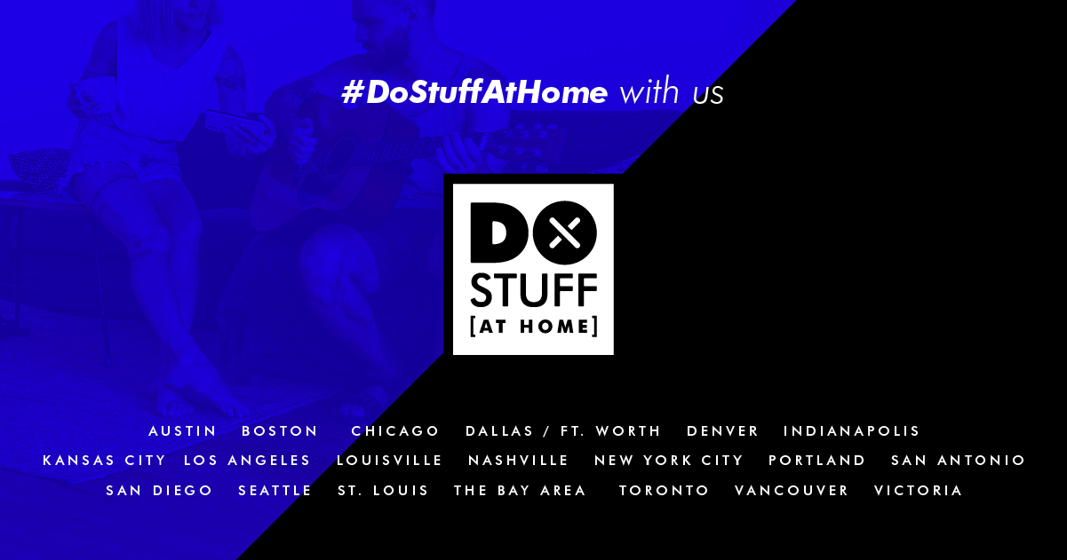 DoStuff at Home with us